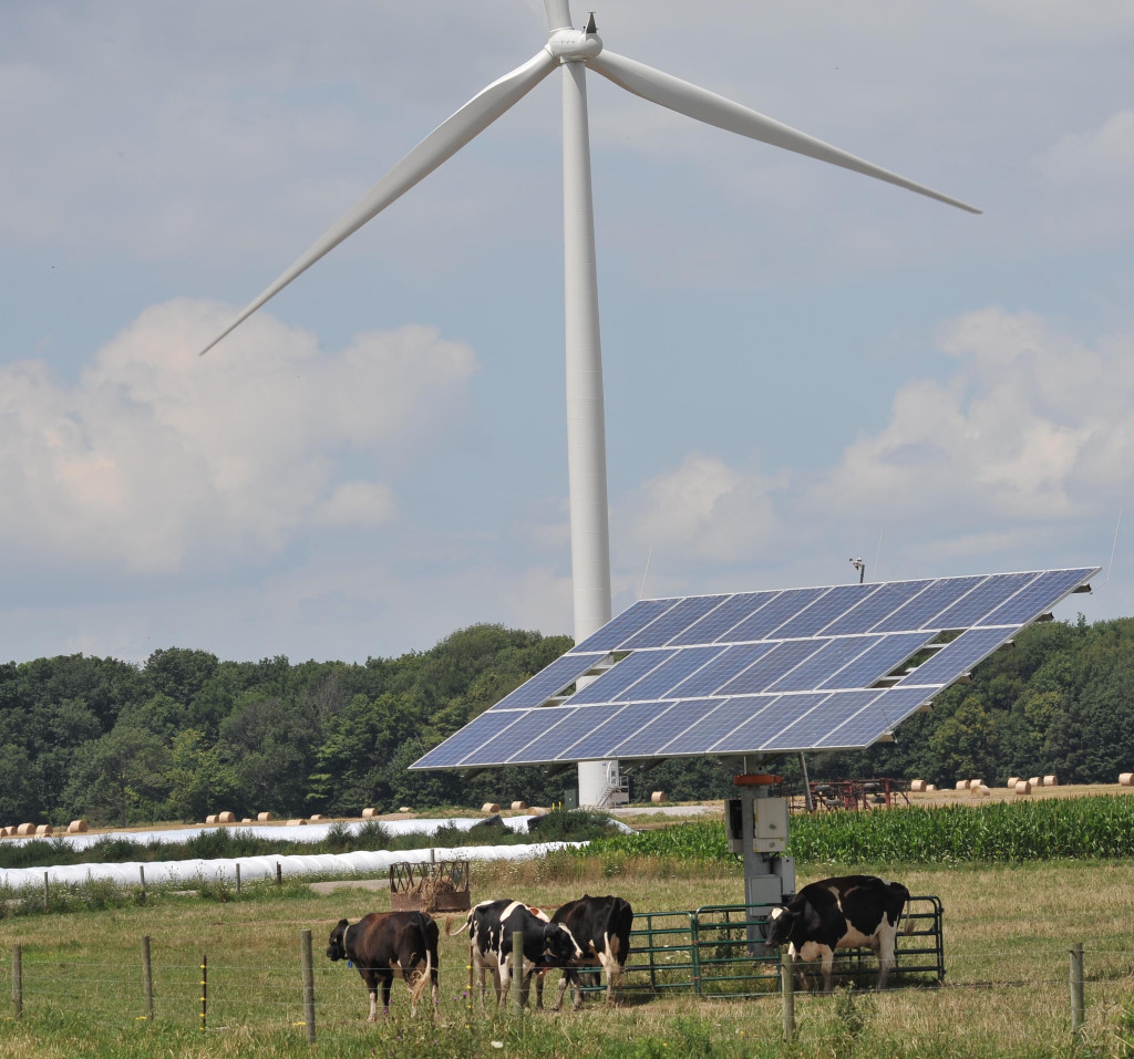 "Many rural residents use alternative energy sources for ""off the grid"" living"